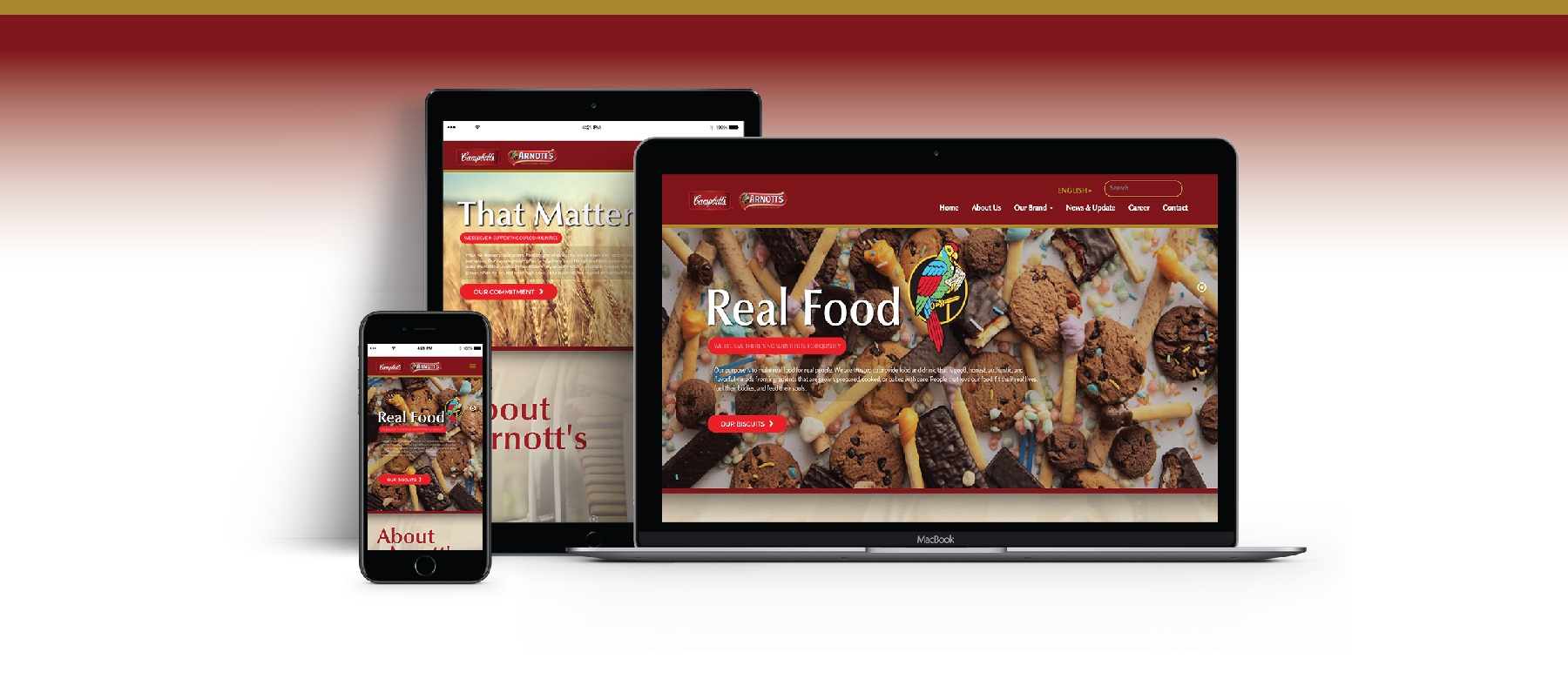 arnotts Website by Grab Essentials